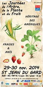 Arbre fruit exposition tableau