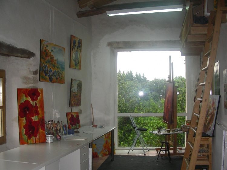 porte ouverte atelier Marie Landreau