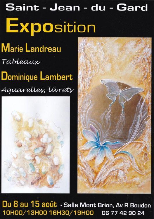 Exposition Marie Landreau Peinture