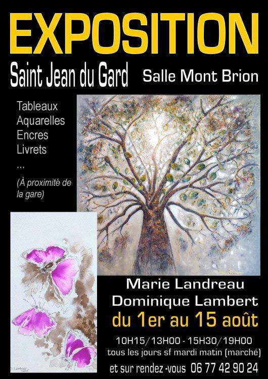 Exposition,  Marie Landreau,  Peinture,  peintre,  Saint Jean du Gard,  Anduze,  Alès en Cévennes,  Cévennes Grand Sud,  Nîmes,  Anduze