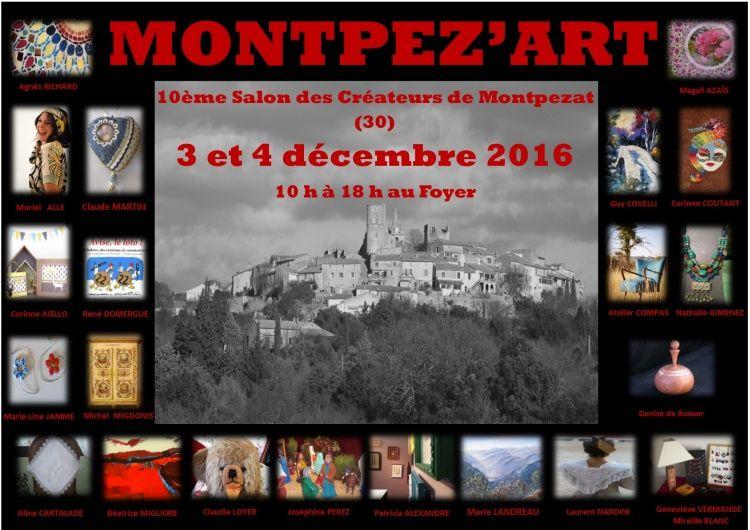 Montpez'art Montpezat Marie Landreau Peintre Peinture