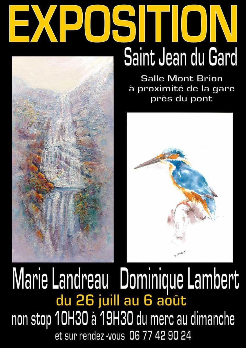 Exposition, Saint Jean du Gard, Marie Landreau, Peintre, peinture, art, tableaux, Anduze, Alès en Cévennes, train à vapeur des Cévennes, Bambouseraie