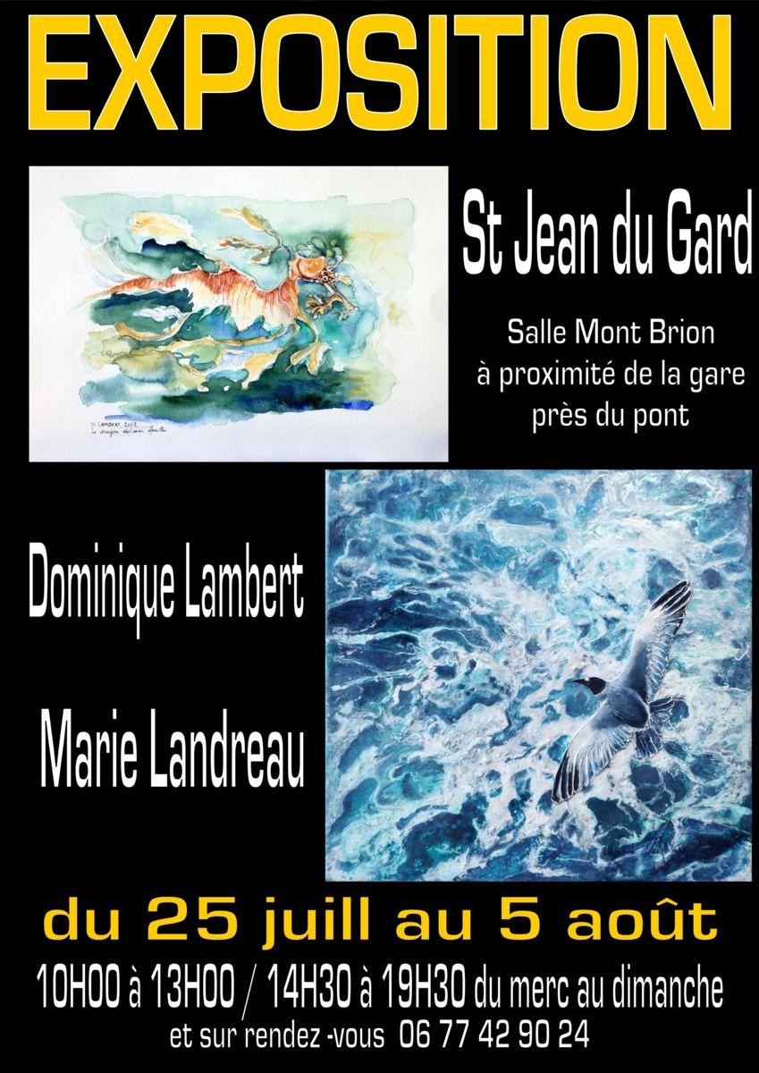 Exposition, Marie Landreau, Saint Jean du Gard, Office de tourisme, Alès Agglomération, Nîmes